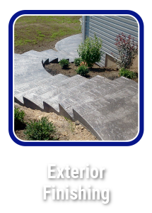 Click to learn about Hortons Concrete exterior finishes