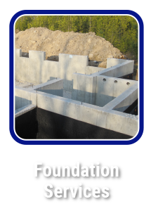 Click to learn about Commercial and Residential foundations by Hortons Concrete Owen Sound