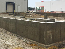Commercial Foundations in Owen Sound by Hortons Concrete