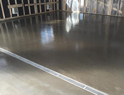 garage concrete floor