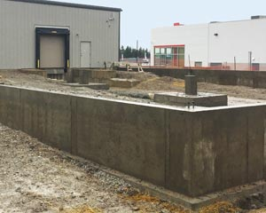 Hortons Concrete Foundation and Floor in Owen Sound